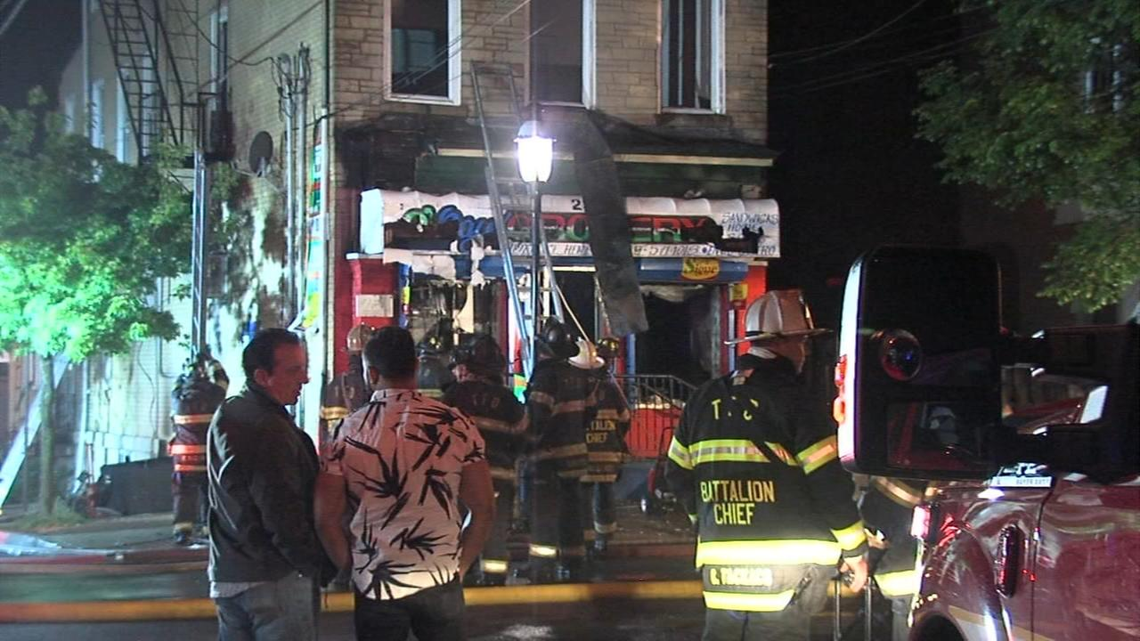 Residents displaced by Trenton fire