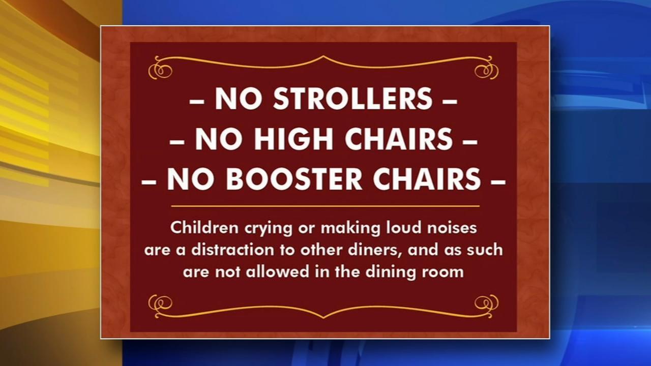 California restaurant wont allow loud children inside