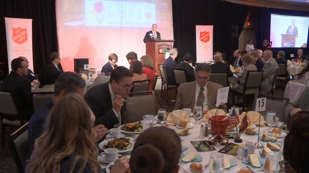 A celebration in honor of the Salvation Army of Greater Philadelphia.