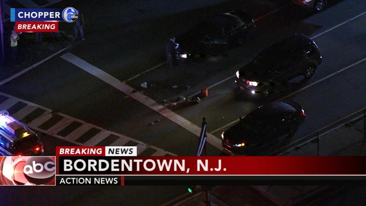 Pedestrian struck by vehicle in Bordentown, N.J.