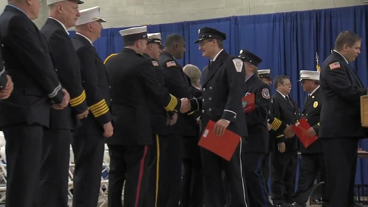 Bucks County graduates 60 fire fighters