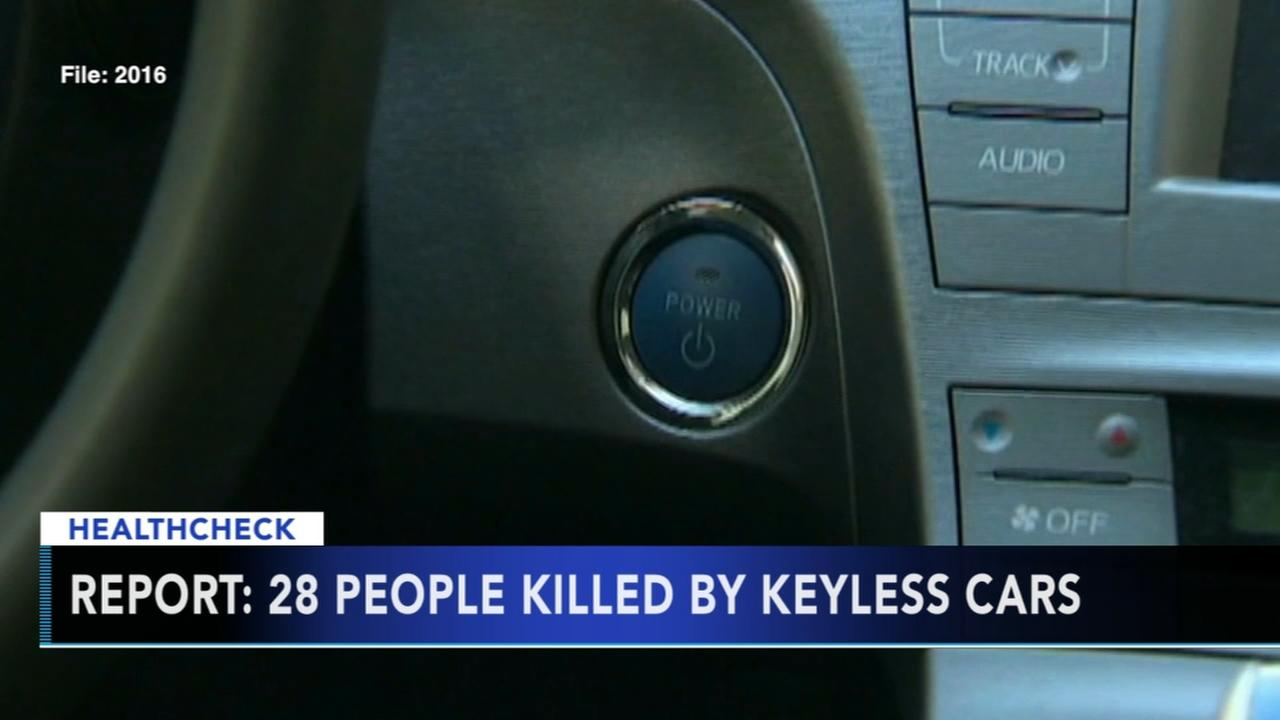 Report: 28 people killed by keyless cars
