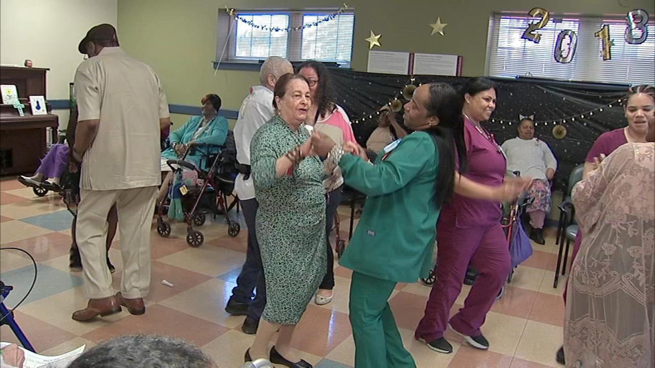 Senior citizens get prom season in full swing in North Philadelphia.