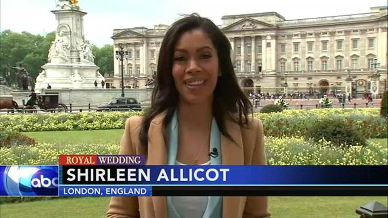 royal wedding shirleen allicot reports from london