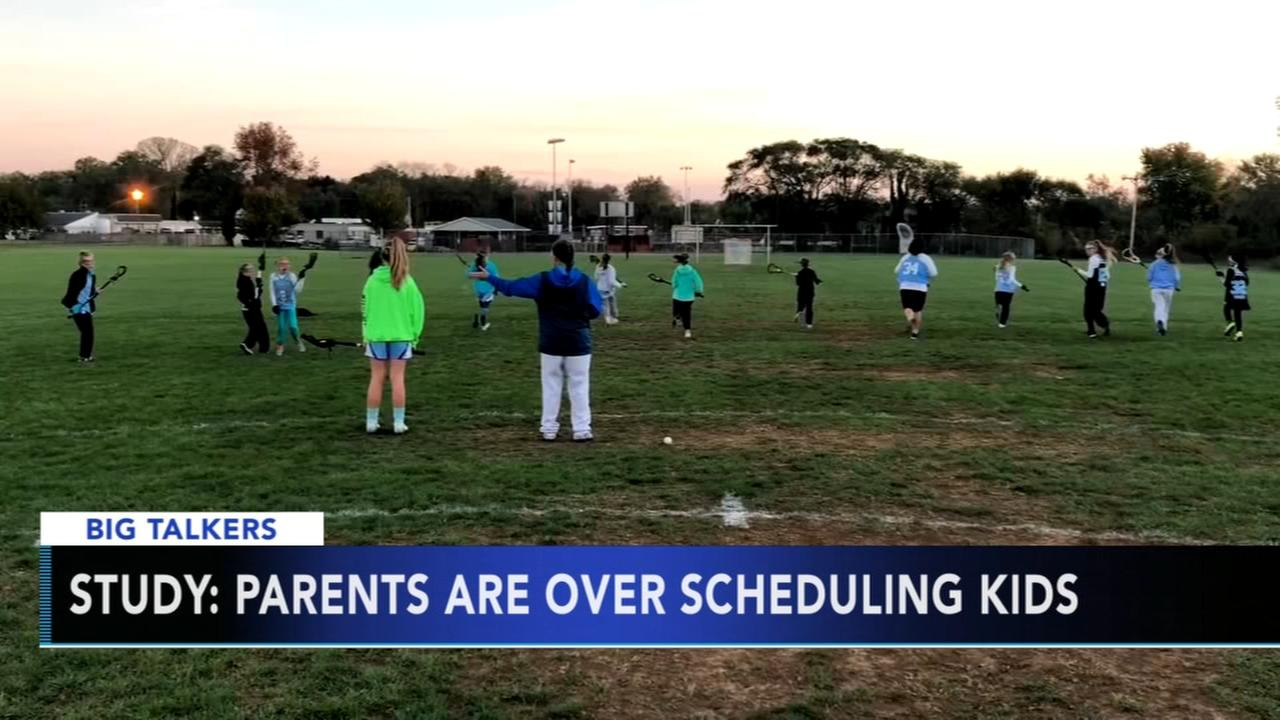 Study: Parents are over scheduling kids