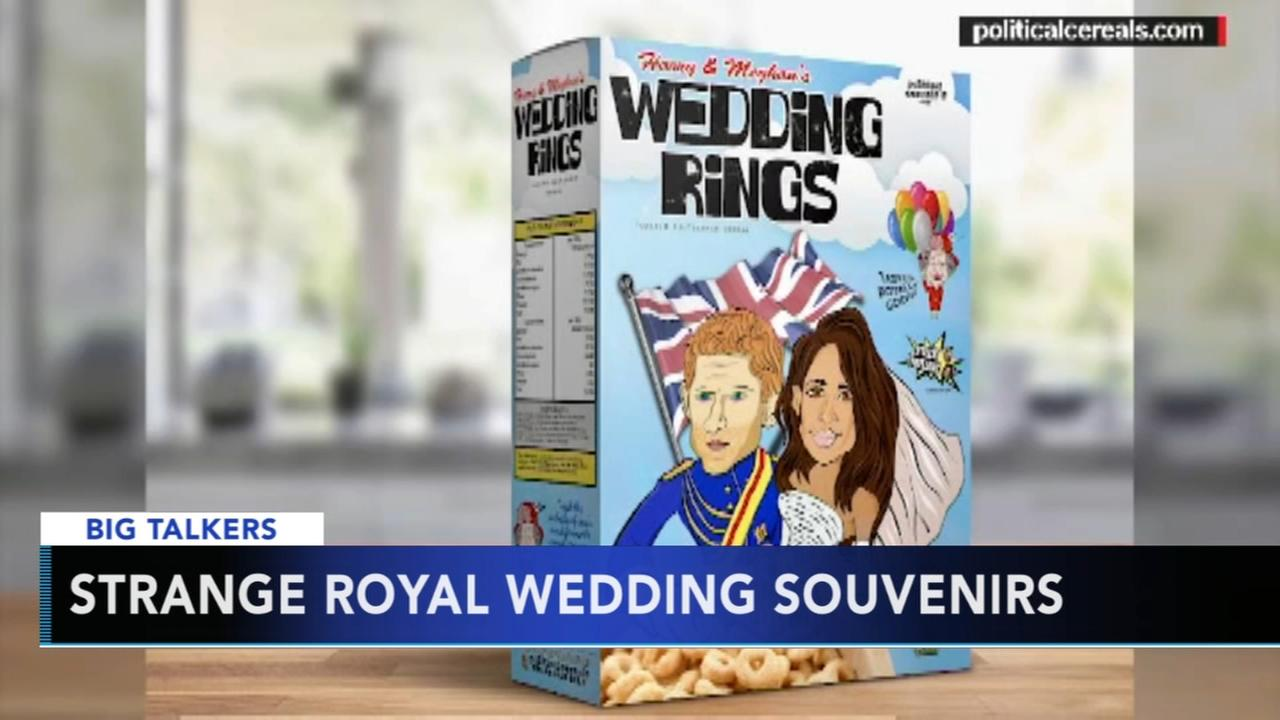 Strange Royal Wedding souvenirs offered ahead of the wedding
