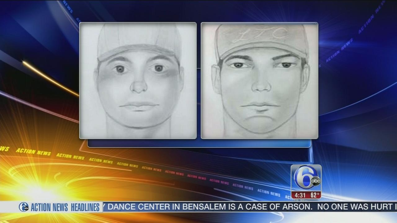 VIDEO: 2 sought in Del. distraction burglaries