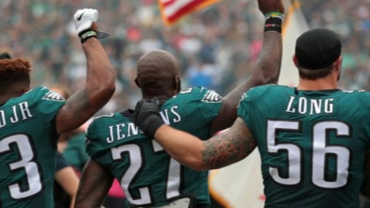 Fans react to Eagles going to the White House