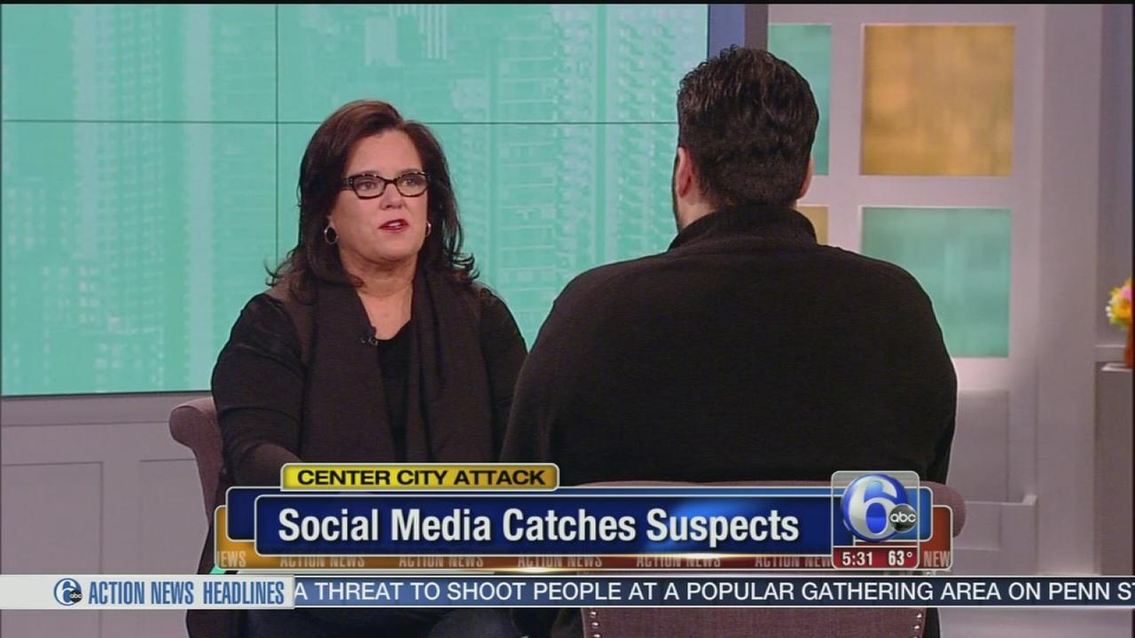 VIDEO: Social media catches suspects