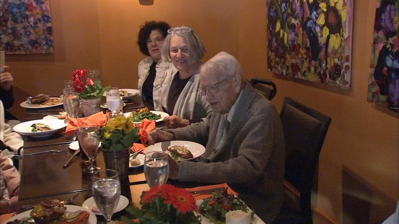 Wayne artist Joe Krush is celebrating his 100th birthday.