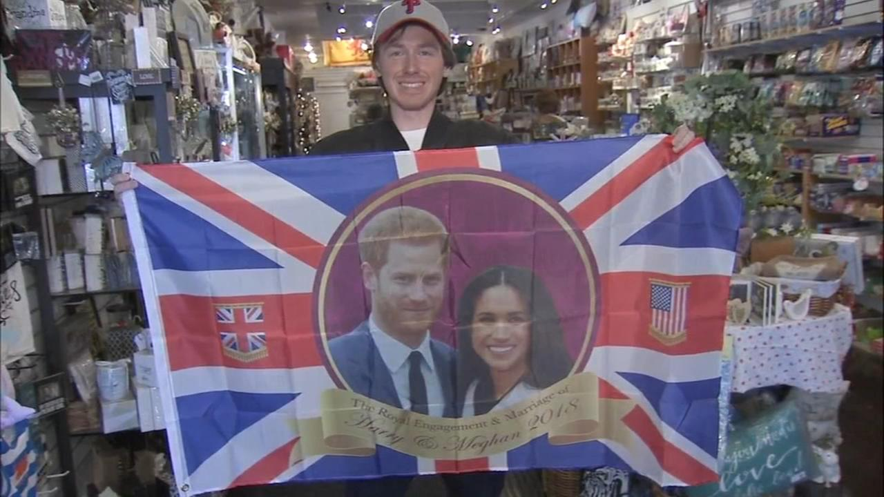 Local folks plan to celebrate the royal couple