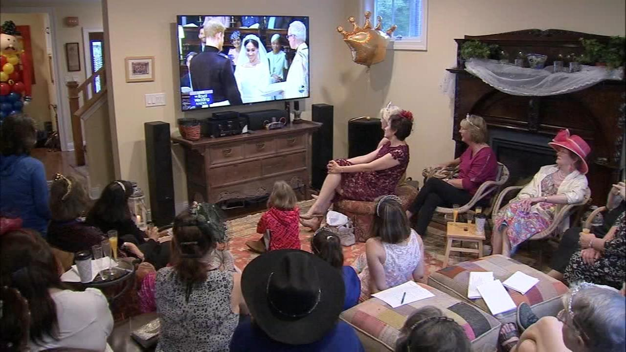 Royal wedding watch party in Berwyn