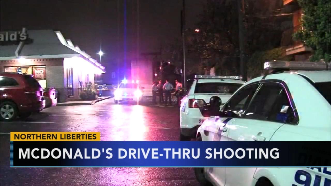 McDonalds drive-thru shooting