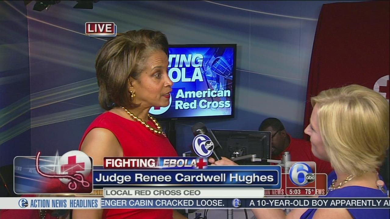 VIDEO: Fighting Ebola phone bank