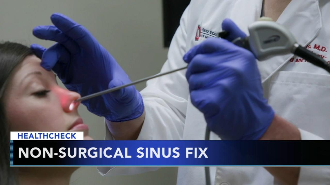 Non-surgical sinus fix