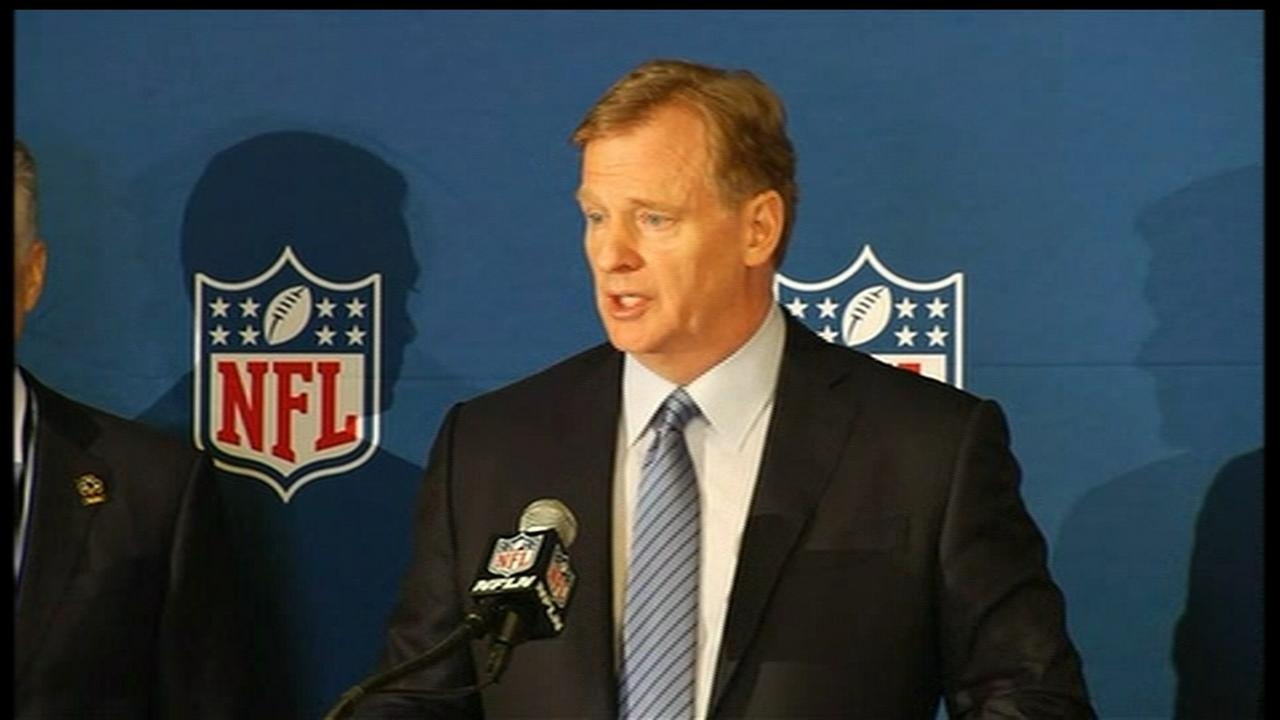 RAW VIDEO: NFL Commissioner Roger Goodell