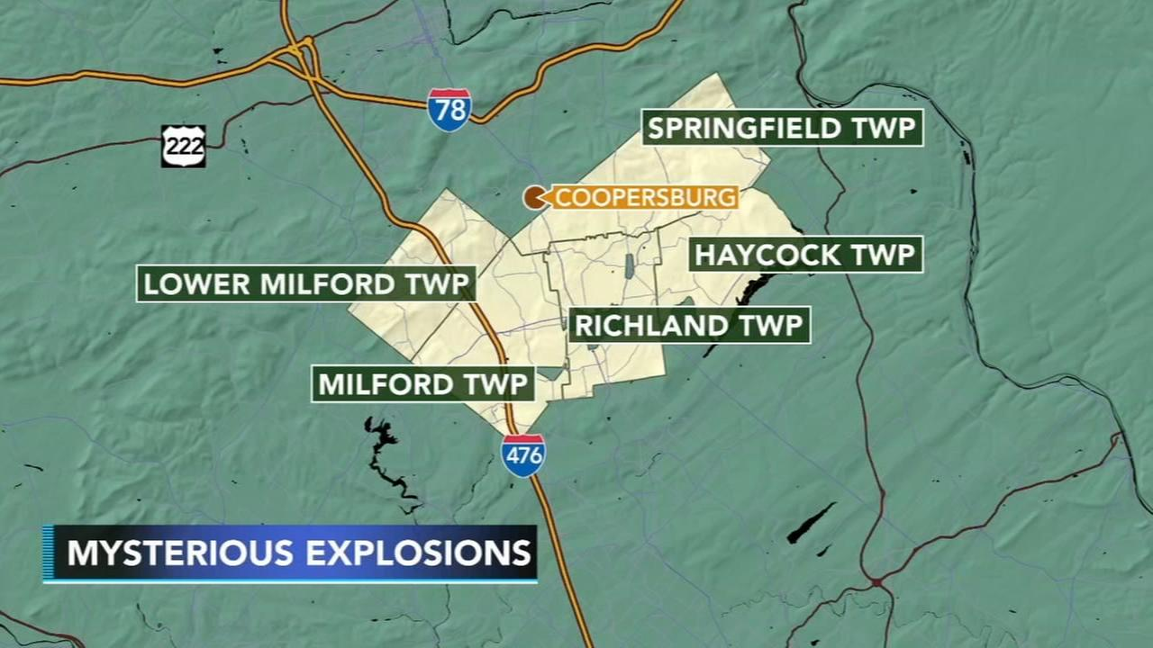 Mysterious explosion-like sounds reported in Upper Bucks