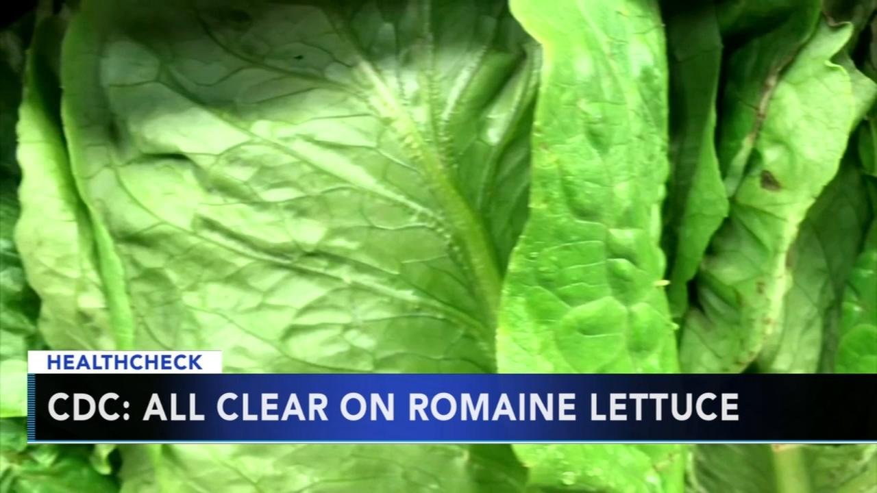 CDC gives green light to romaine lettuce