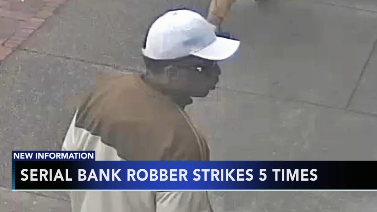 FBI searching for serial bank robber