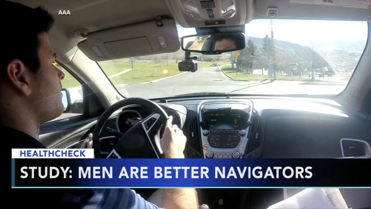 Study: Men are better navigators