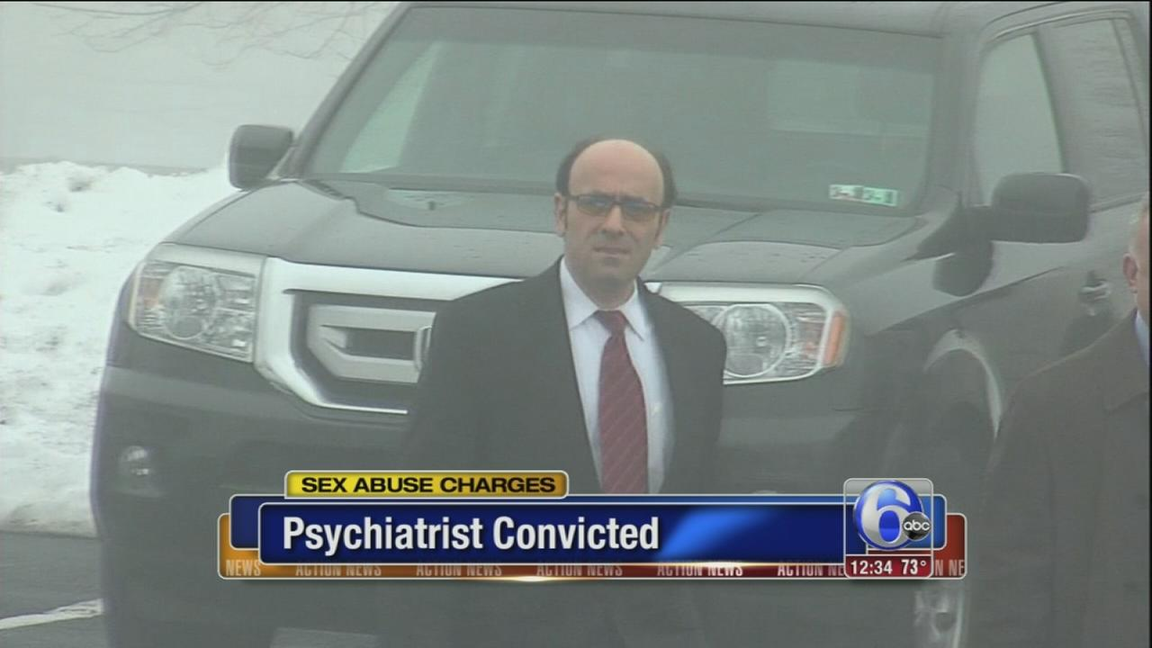 VIDEO: Bucks Co. psychiatrist convicted of fondling patients