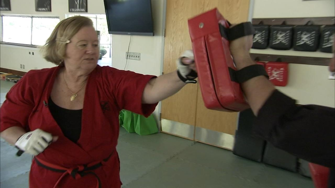 Art of Aging: Senior trains for Karate black belt