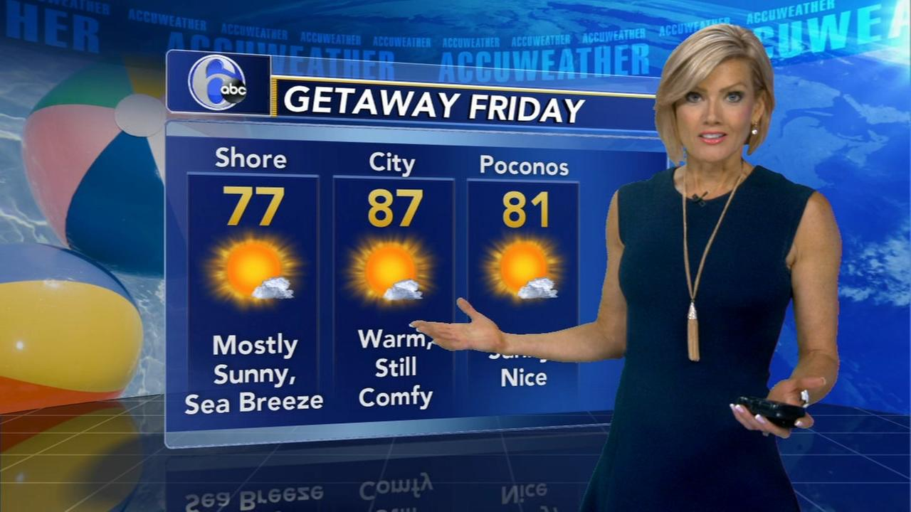 Cecily Tynan with AccuWether