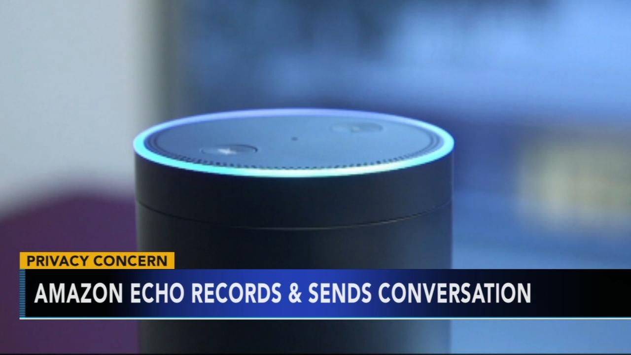 Amazon echo records and sends conversation