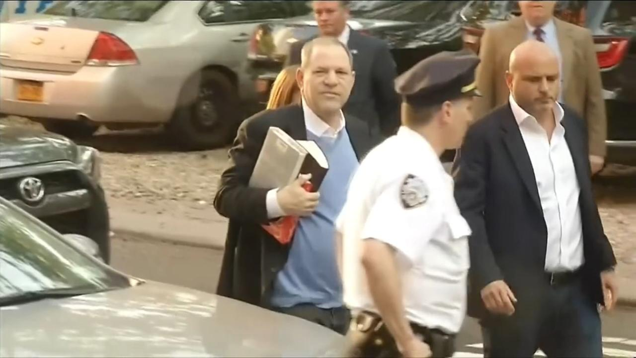 RAW VIDEO: Harvey Weinstein surrenders to police