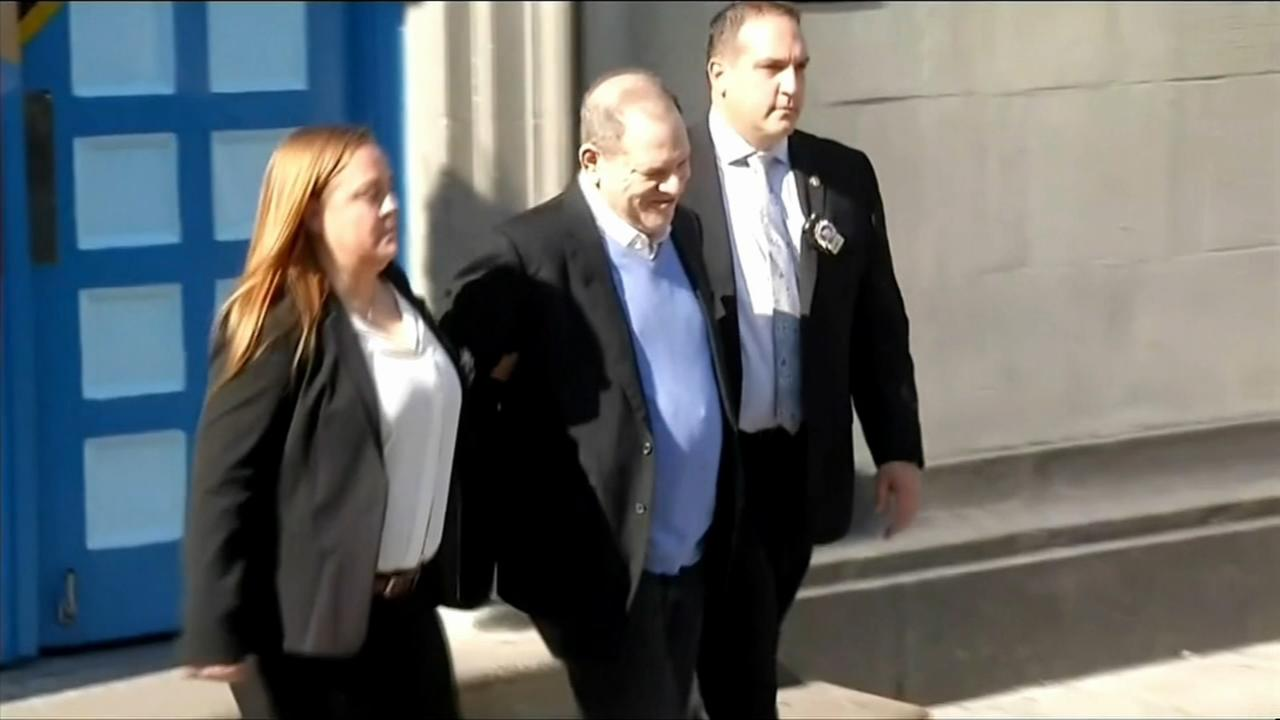Weinstein arraigned on rape, criminal sex act charges