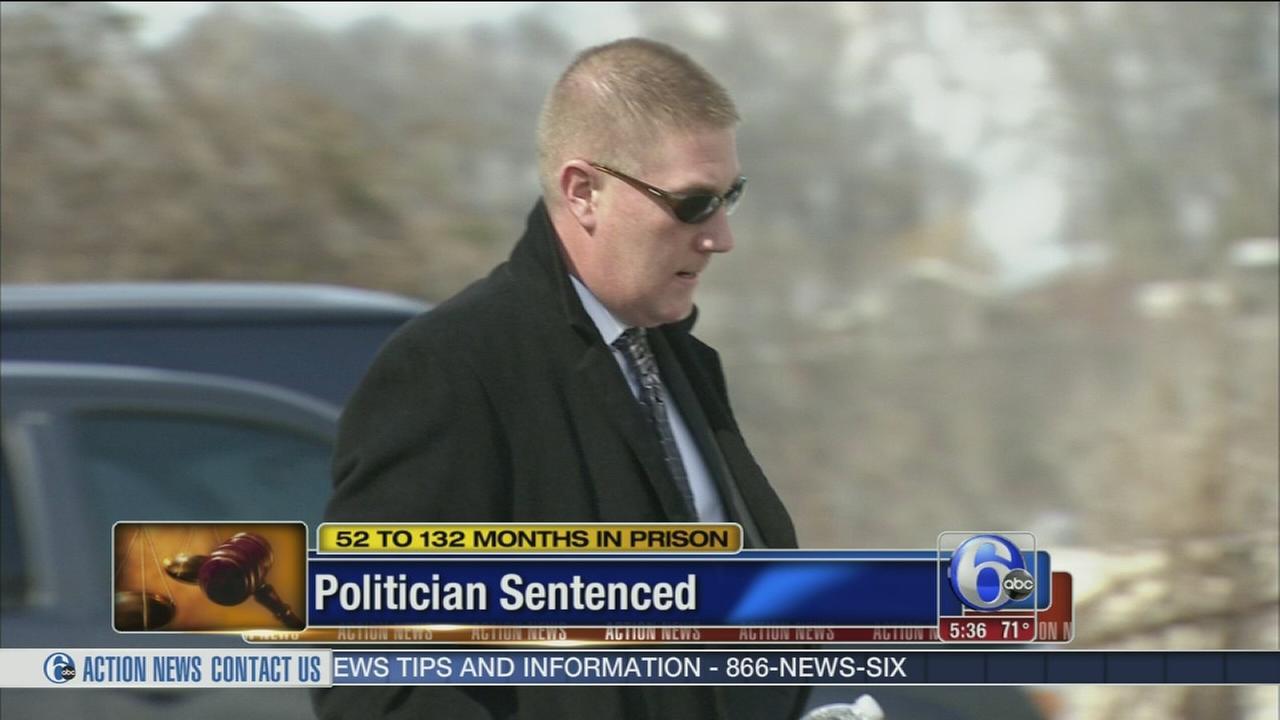 VIDEO: Politician sentenced