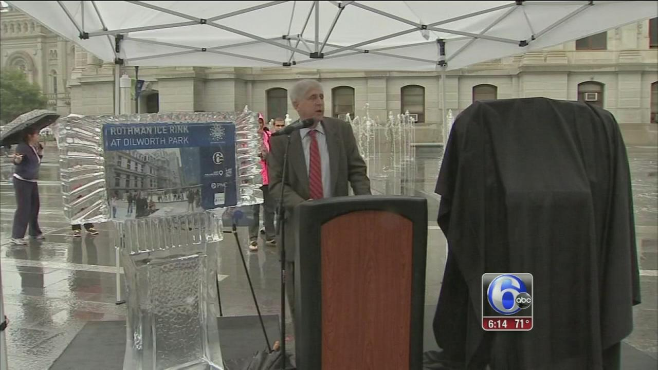 VIDEO: Opening date announced for Dilworth Plaza ice rink