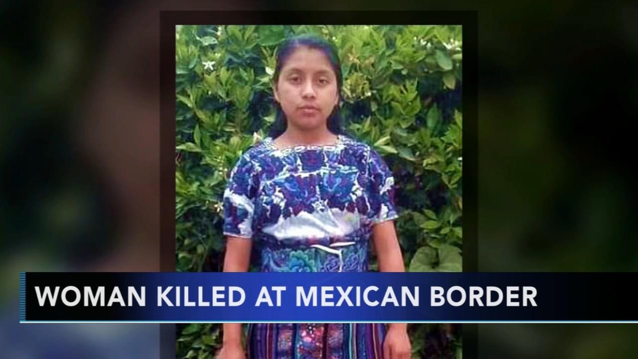 20-year-old woman killed at Mexican border