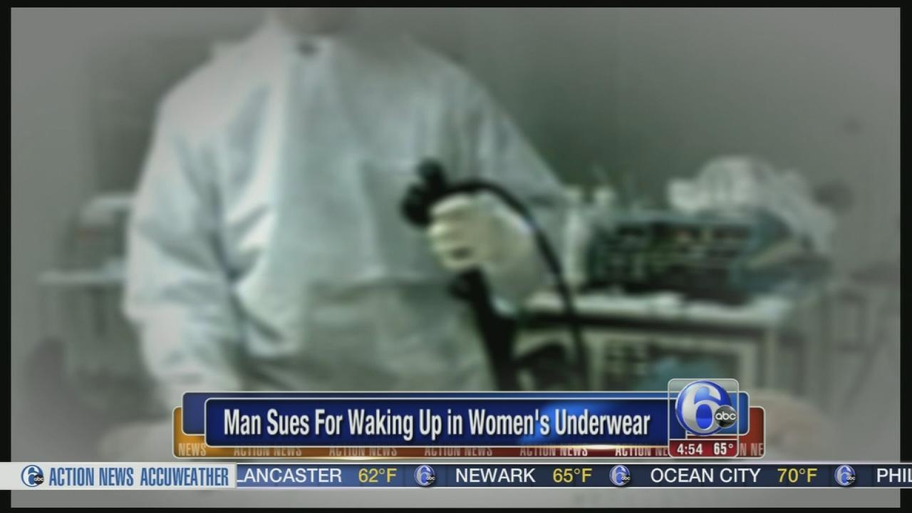 VIDEO: Man says he woke up wearing pink panties after colonoscopy