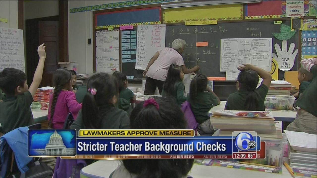 VIDEO: Stricter teacher background checks