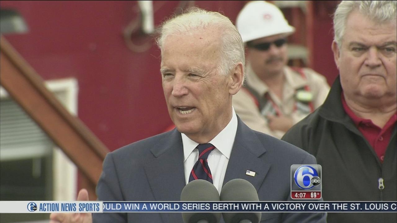 VIDEO: Biden speaks on infrastructure in Philadelphia