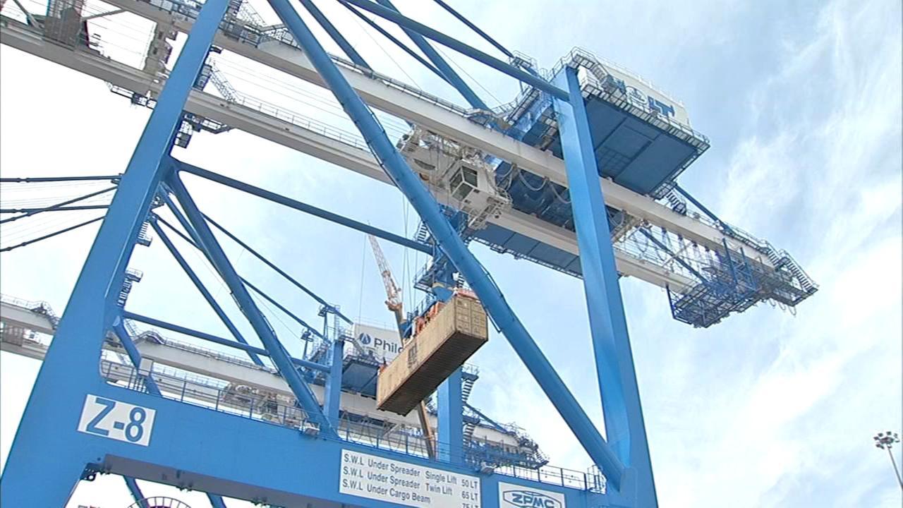 Local leaders announce port development project