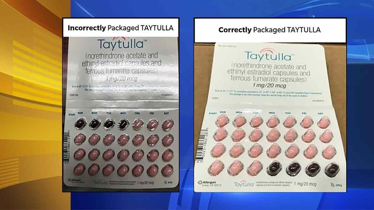 Allergan Issues Nationwide Voluntary Recall of TAYTULLA Softgel Capsules