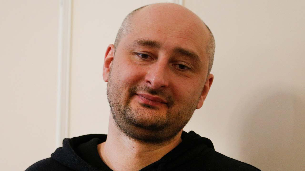 Arkady Babchenko shows up alive one day after his reported murder