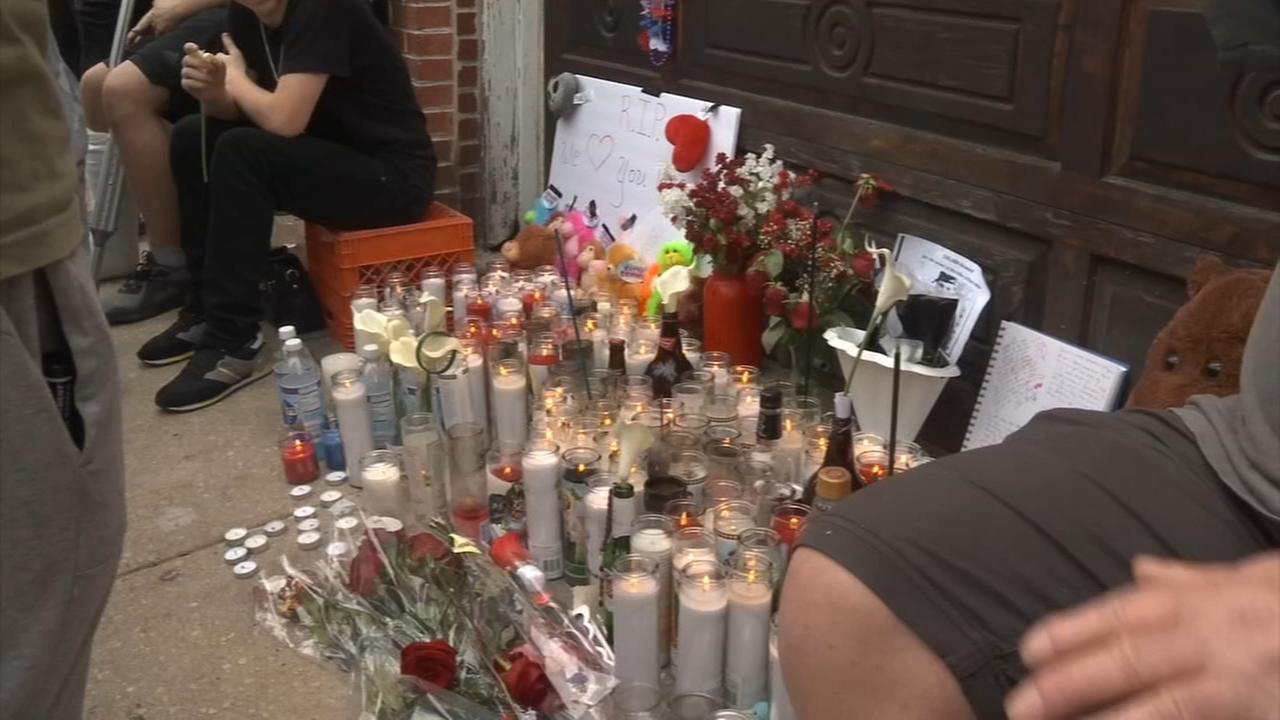 Vigil for Ryan Dillon in South Philadelphia