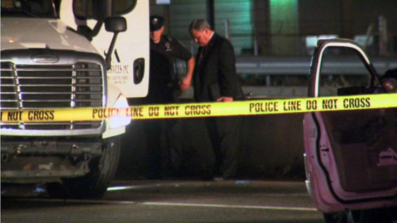PHOTOS: Big rig chase, police shooting in Norristown