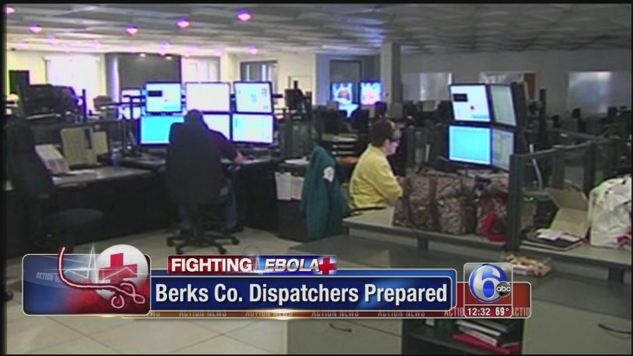 VIDEO: Berks 911 operators to screen for Ebola