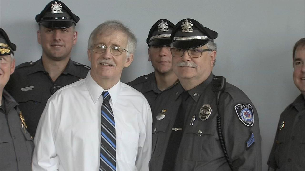 Police officers, sworn in together 37 years ago, retire on same day