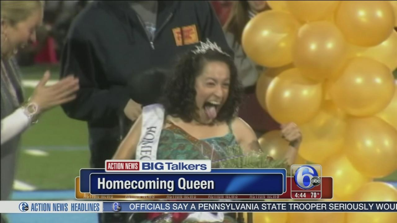 VIDEO: Teen with special needs elected homecoming queen