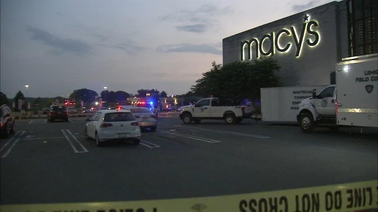 Suspect sought after shooting at Lehigh Valley Mall; 2 injured