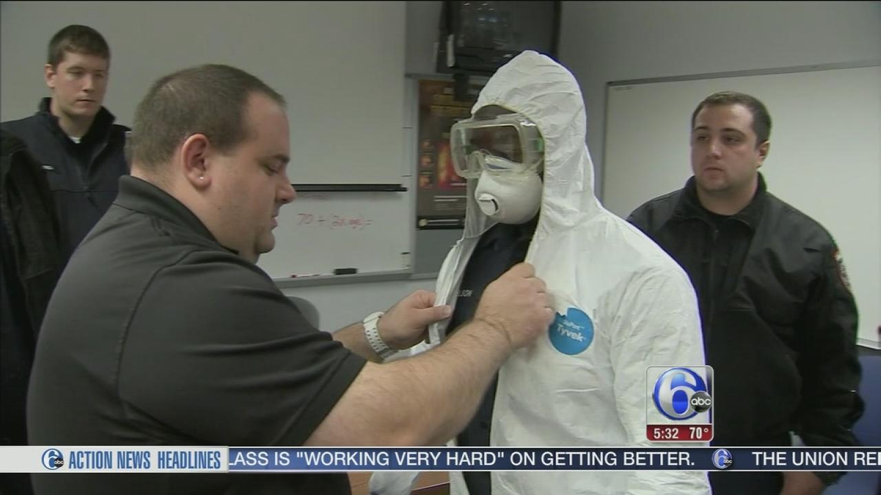 VIDEO: Trenton rescue crews ready to face hazardous situations