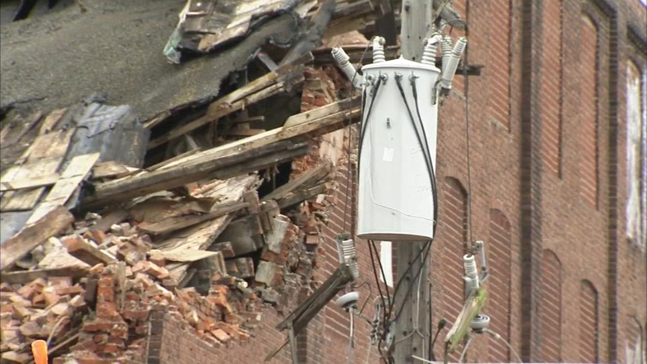 Demolition mishap causes power outage in South Philly