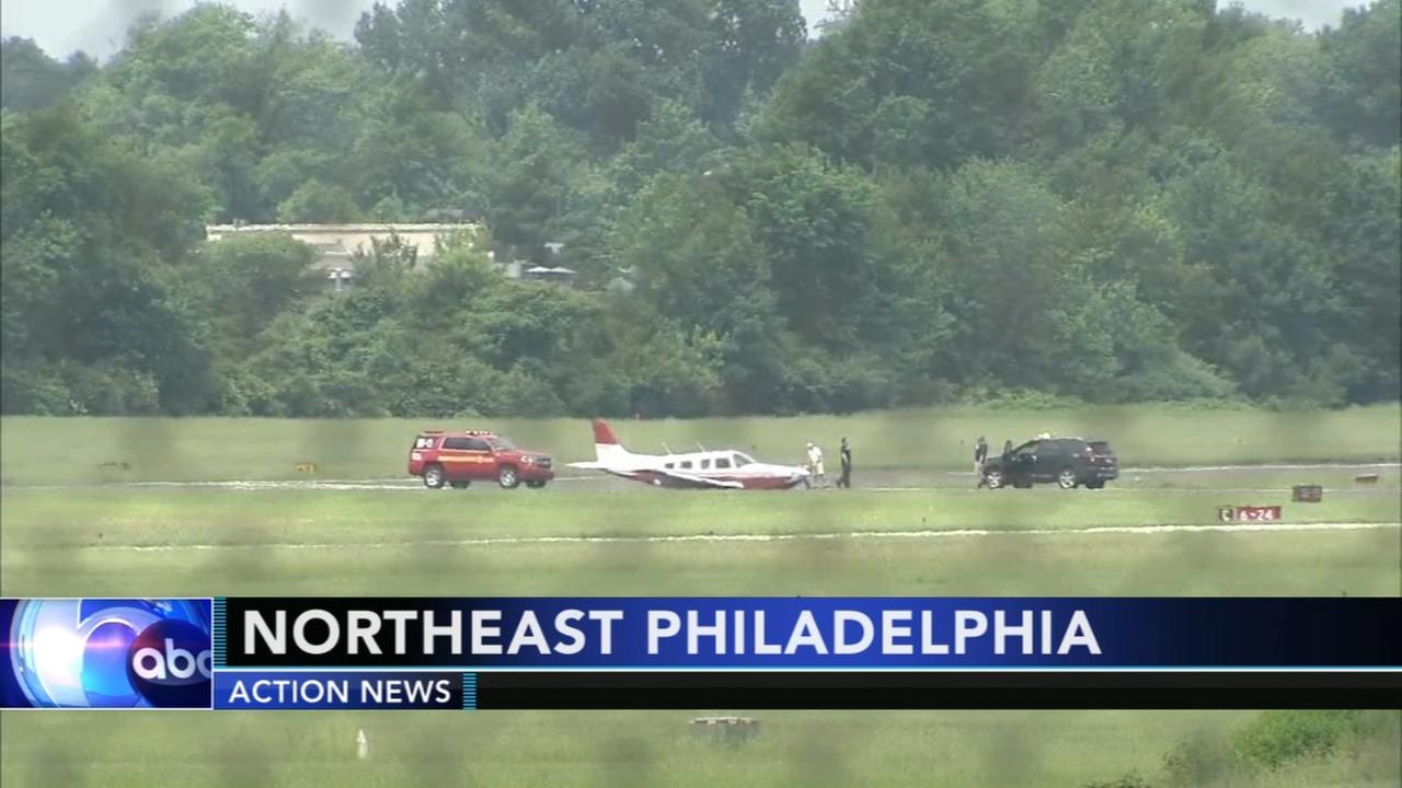 Pilot makes emergency landing in Northeast Philadelphia