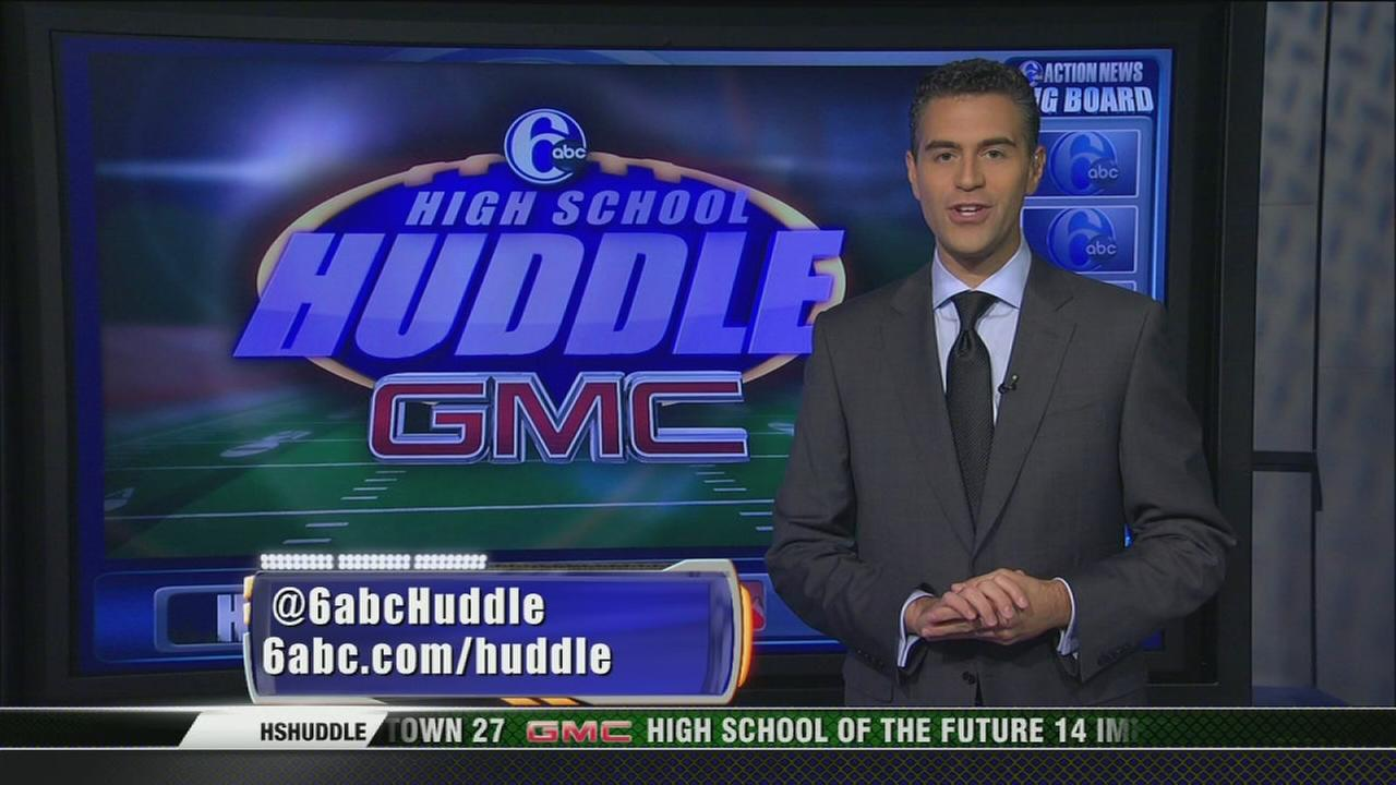 VIDEO: High School Huddle 2014: Week 8