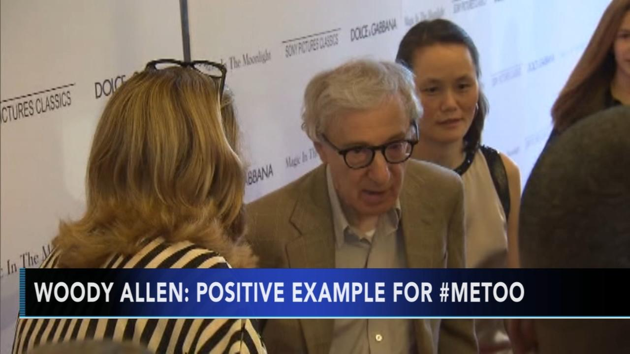 Woody Allen: I should be the poster face for #MeToo movement